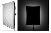 Understanding the light patterns of studio flash modifiers.