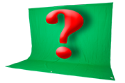 Do you really need a chroma key green screen for digital photo backgrounds?
